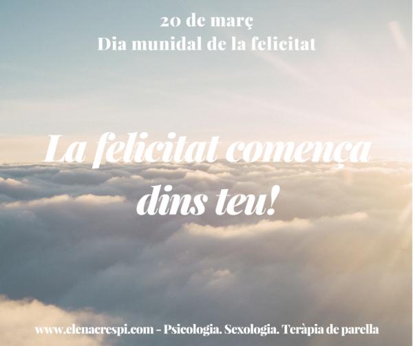 Missatge eLena - Dia de la felicitat
