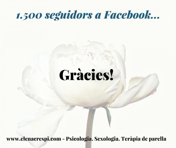 Missatges per dates senyalades - 1500 Facebook